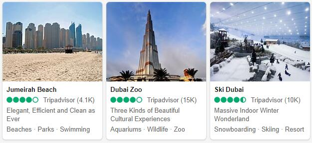 Dubai Attractions 2