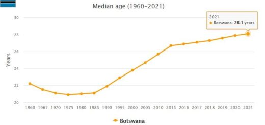 Botswana Median Age
