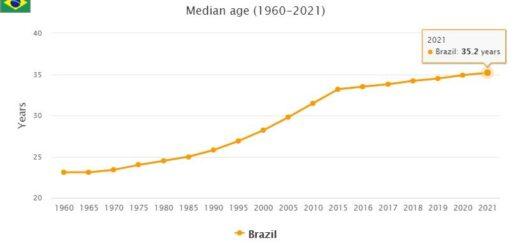 Brazil Median Age
