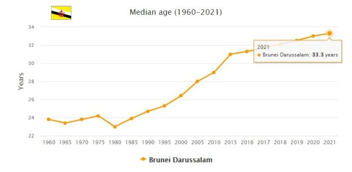 Brunei Median Age