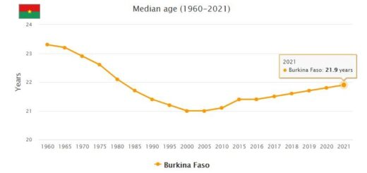 Burkina Faso Median Age