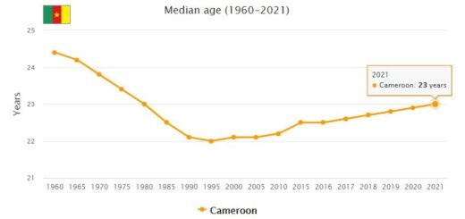 Cameroon Median Age