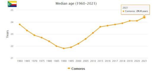 Comoros Median Age