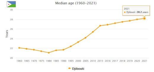 Djibouti Median Age