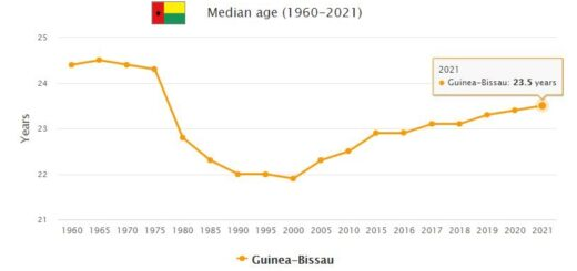 Guinea-Bissau Median Age