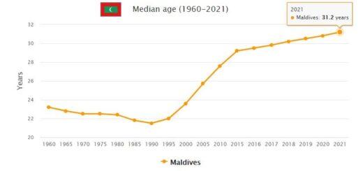 Maldives Median Age