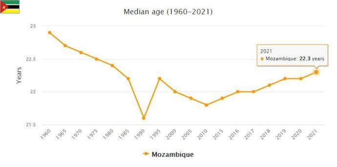 Mozambique Median Age