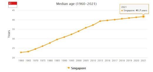 Singapore Median Age