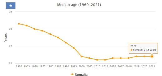 Somalia Median Age