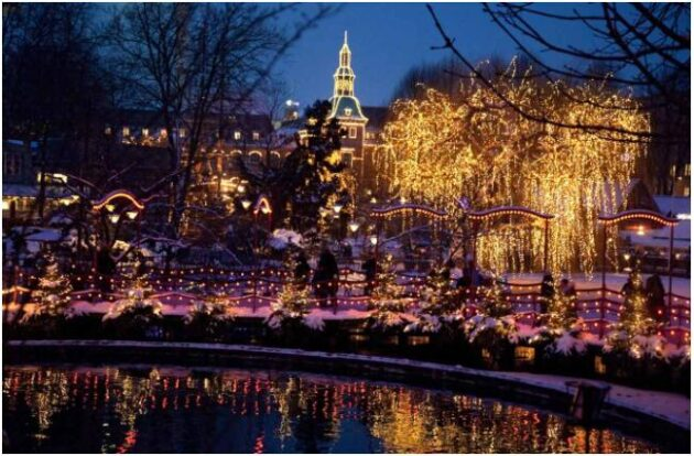 Under Christmas, Tivoli turns into a winter wonderland
