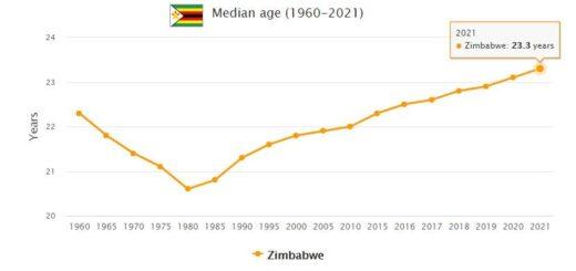 Zimbabwe Median Age