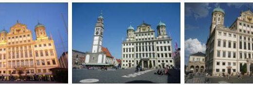 Special Buildings in Augsburg, Germany