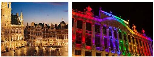 The Great Square in Brussels (World Heritage)